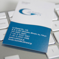 legrand business card